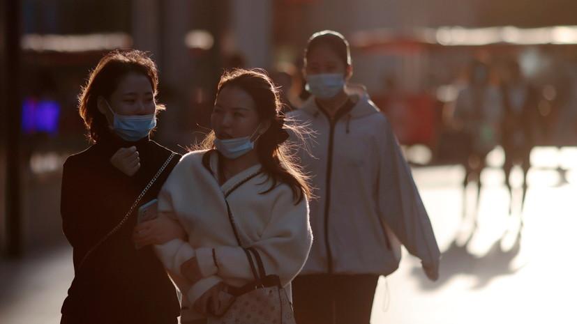 За сутки в КНР выявлено 33 случая коронавируса