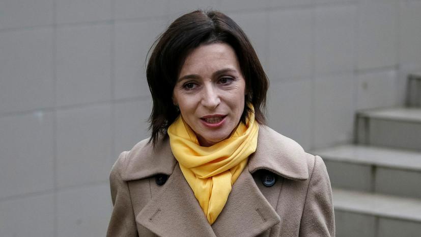 Санду отказалась от дебатов с Додоном перед президентскими выборами