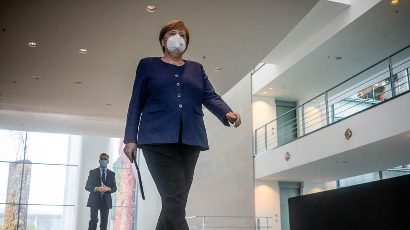 Меркель назвала приоритеты Германии в работе с Байденом