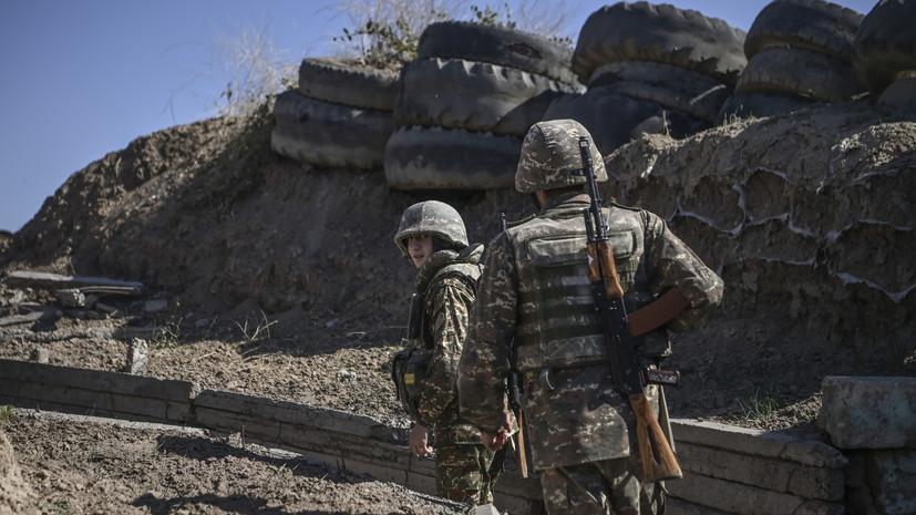 В Армении сообщили о новом наступлении Азербайджана на Карабах