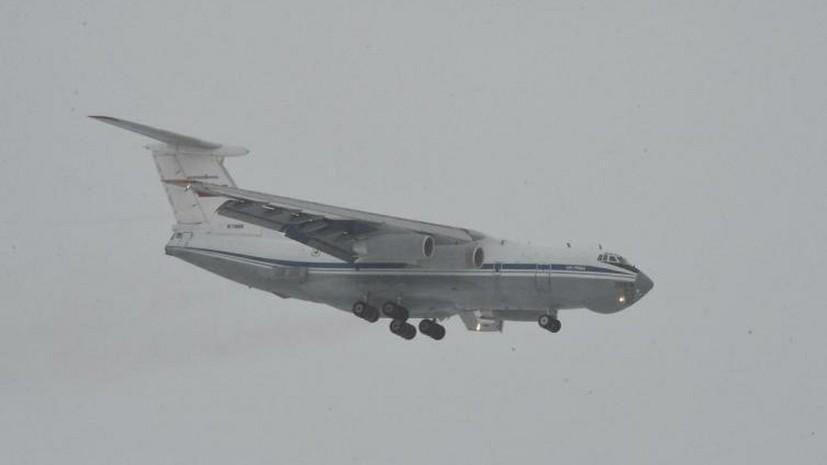 Ещё два самолёта с миротворцами направились в Карабах