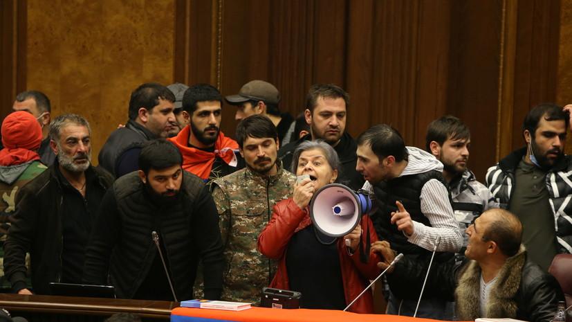 Минобороны Армении выпустило заявление по ситуации с протестами