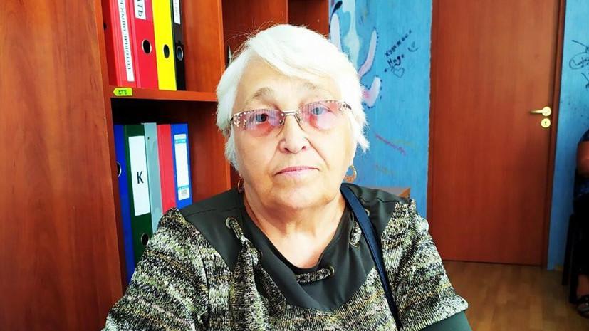 Пенсионерка Людмила Будянская из Донецка была ранена на прогулке с собакой