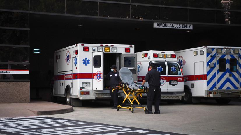 В США за сутки выявили более 111 тысяч новых случаев коронавируса