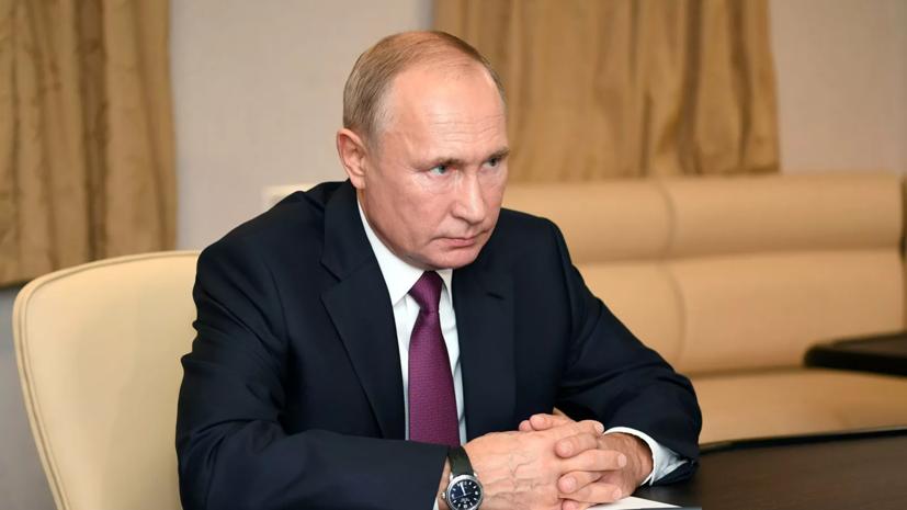 Путин: Россия не будет втягиваться в изматывающую гонку вооружений
