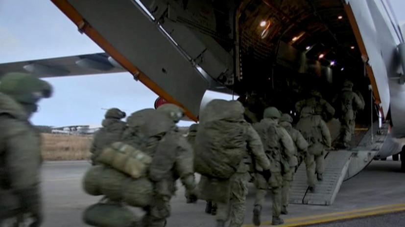 В Минобороны рассказали о переброске миротворцев в Карабах