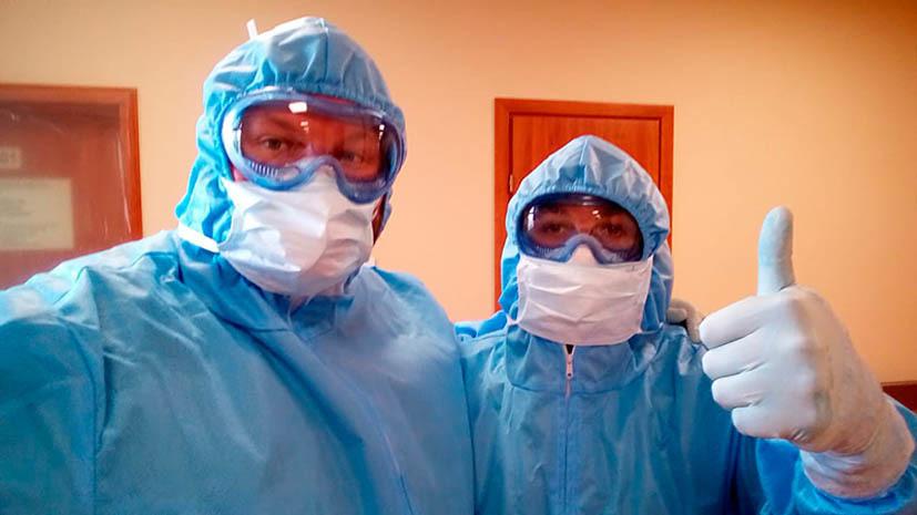 Врач «Локомотива» рассказал о работе в больнице во время пандемии