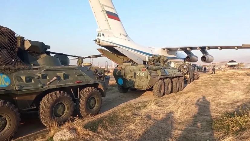 Российские миротворцы взяли под контроль Лачинский коридор