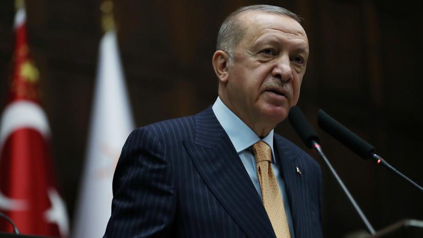 Эрдогансообщил о контактах с Россией по ситуации в Карабахе