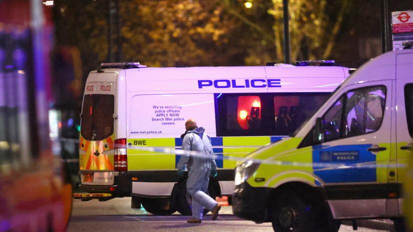 Антитеррористический отдел подключили к расследованию наезда в Лондоне