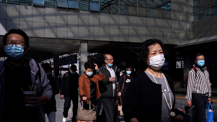 В Китае за сутки выявили 21 носителя коронавируса
