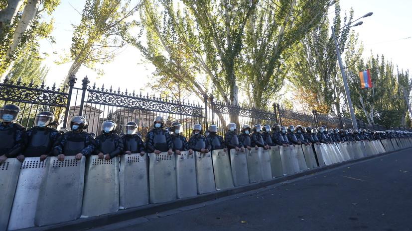 В Армении заявили о задержании ещё трёх оппозиционеров
