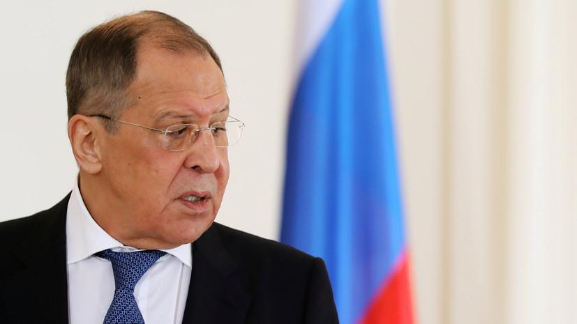 Лавров рассказал о разговоре Путина и Пашиняна