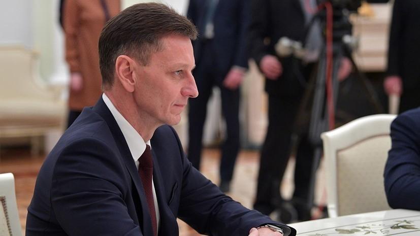 Губернатор Владимирской области ушёл на самоизоляцию