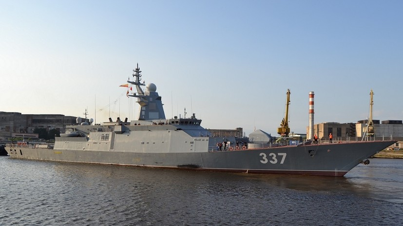 «Расширенные боевые возможности»: на что способен российский корвет проекта 20385 «Гремящий»