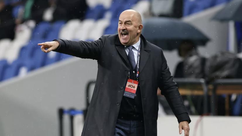 Черчесов не считает, что игроки сборной России не смогли настроиться на матч с Молдавией