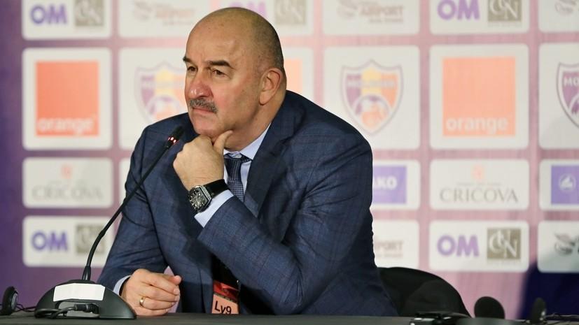 «Молдаване оборонялись большими силами»: Черчесов о нереализованных моментах, «нежном» футболе и своих экспериментах