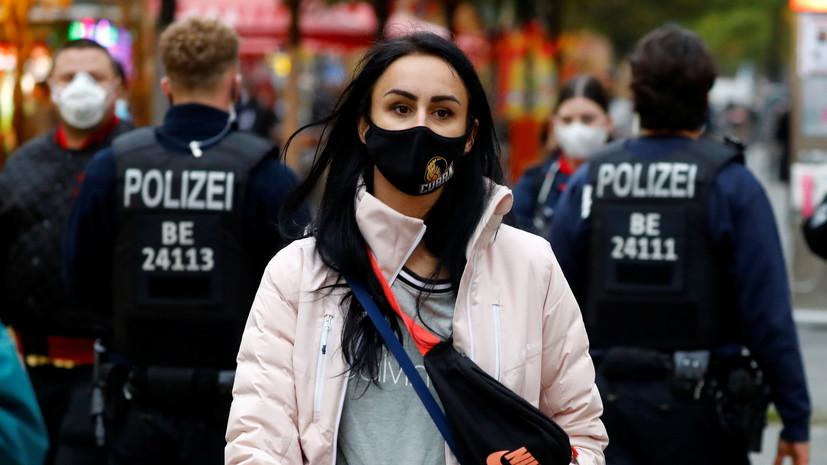 В Германии призвали не ждать смягчения ограничительных мер по COVID-19