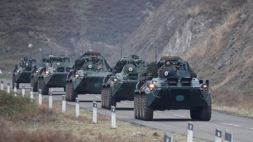 Путин заявил о полном прекращении обстрелов в Нагорном Карабахе
