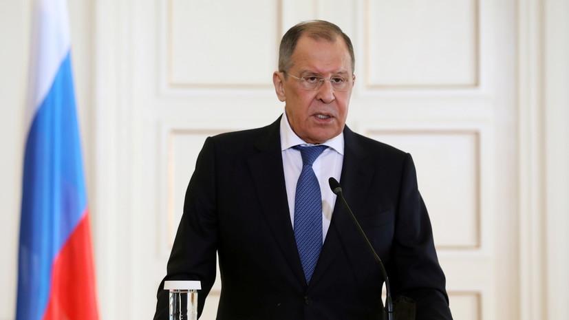 Лавров сообщил о переговорах поразмещению структур ООН в Карабахе