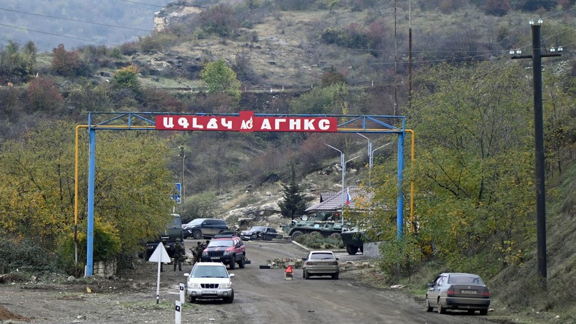 «Для содействия решению гуманитарных вопросов»: Путин подписал указ о создании межведомственного центра по Карабаху