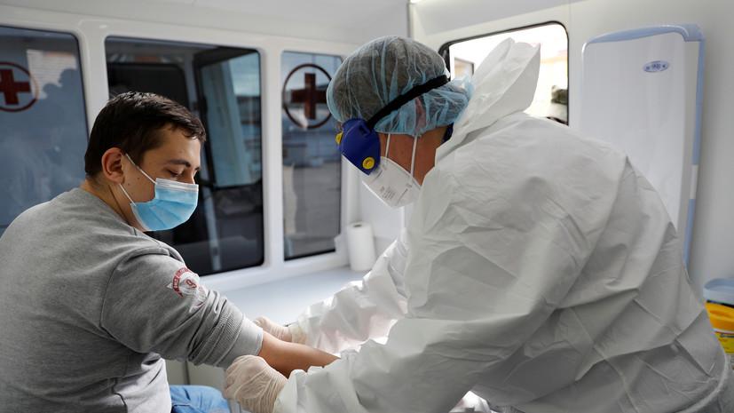 В России за сутки выявили более 22 тысяч случаев коронавируса