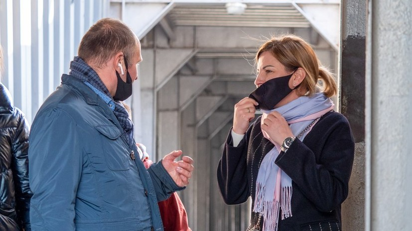 Врач посоветовал больше молчать в общественных местах на фоне пандемии