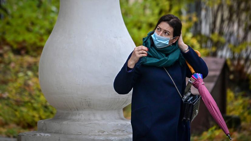 Впервые с начала пандемии: в России выявлено 22 702 новых случая коронавируса за сутки