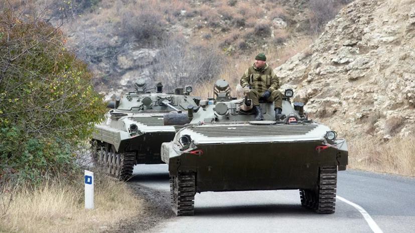 В России рассказали о работе по предотвращению инцидентов в Карабахе