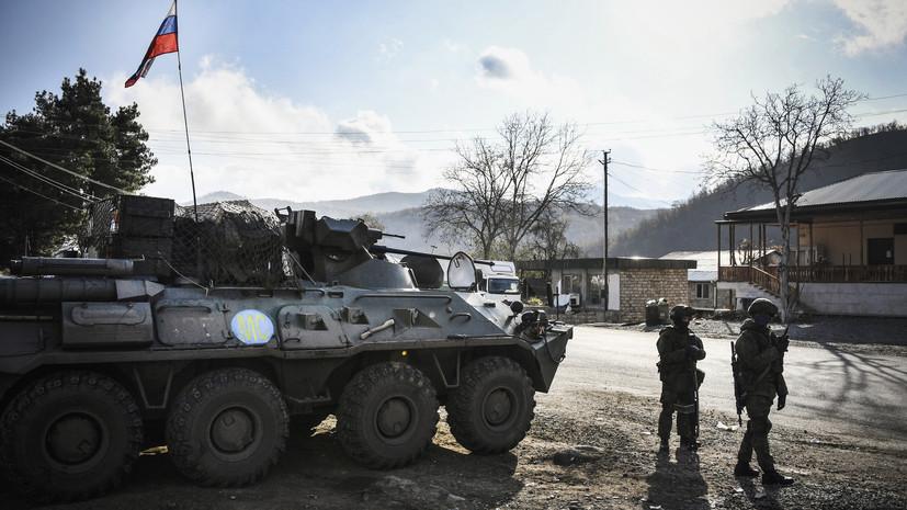«Остановлены все виды боевых действий»: командующий российскими миротворцами рассказал о стабилизации в Карабахе