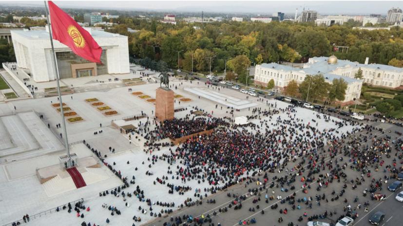 В Киргизии завершили приём документов от кандидатов на пост президента