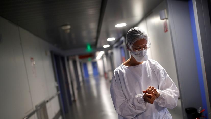 Во Франции за сутки выявлено более 32 тысяч случаев коронавируса