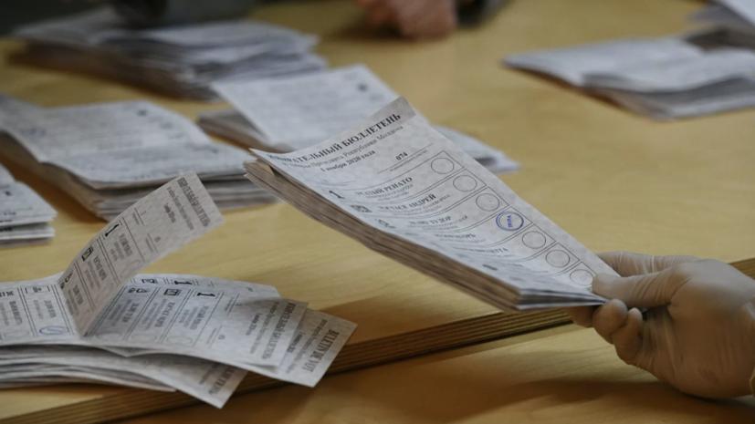 Премьер Молдавии проголосовал во втором туре выборов президента