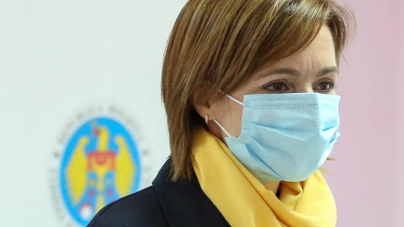 Санду проголосовала на президентских выборах в Молдавии