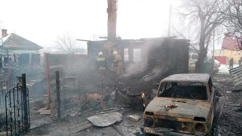 Четыре человека погибли при пожаре в Новосибирской области