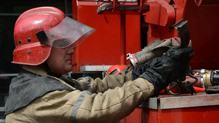 При пожаре на севере Москвы погиб человек