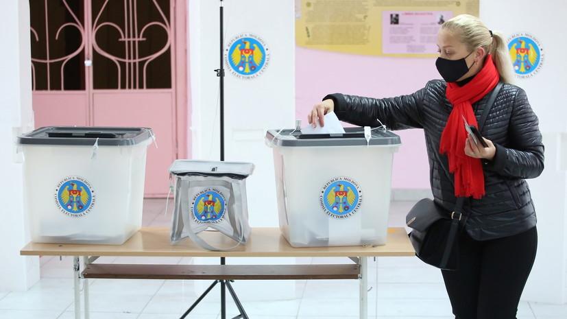 ЦИК Молдавии оценила ход голосования во втором туре выборов президента
