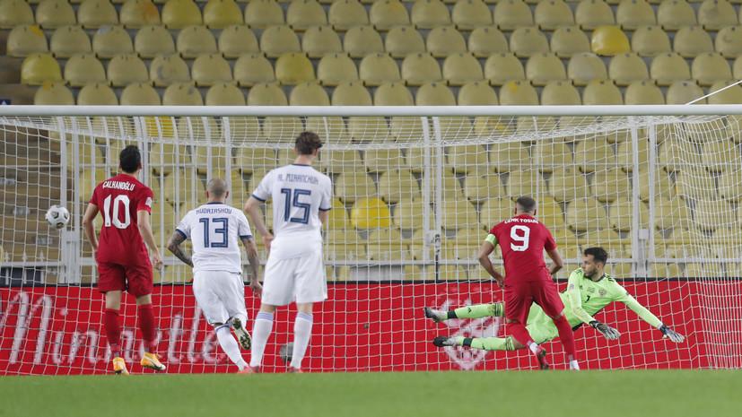Удаливший Семёнова судья назначил пенальти в ворота сборной России