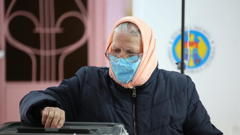 Явка на выборы президента Молдавии превысила 52%