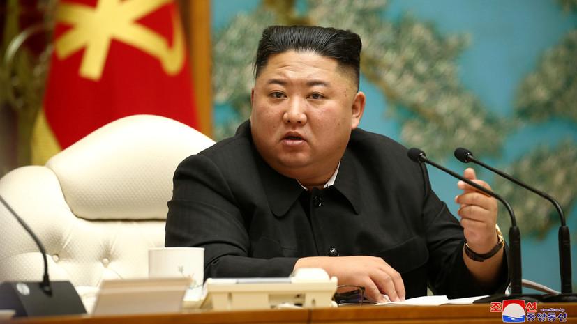 «Рёнхап»: Ким Чен Ын впервые за 25 дней появился на публике