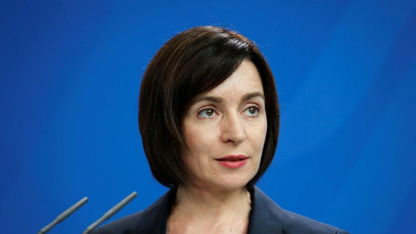 Санду заявила о своей победе на президентских выборах в Молдавии