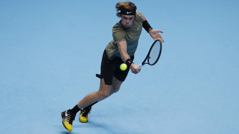 Рублёв прокомментировал свой проигрыш Надалю на старте Итогового турнира ATP