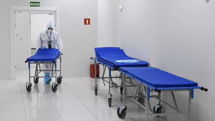 В Хакасии заработал мобильный военный госпиталь для лечения COVID-19