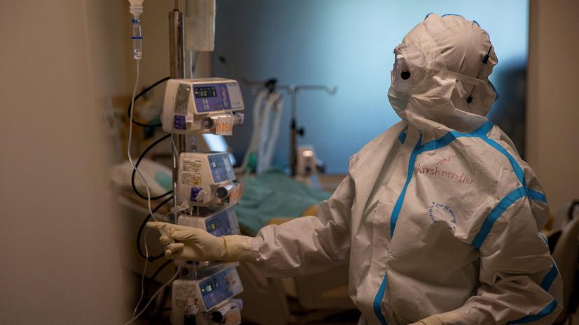 В Индии за сутки зафиксировали более 30 тысяч случаев коронавируса