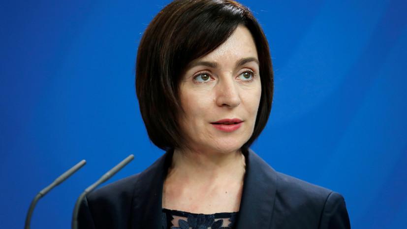 В ЦИК Молдавии заявили о победе Санду на выборах президента