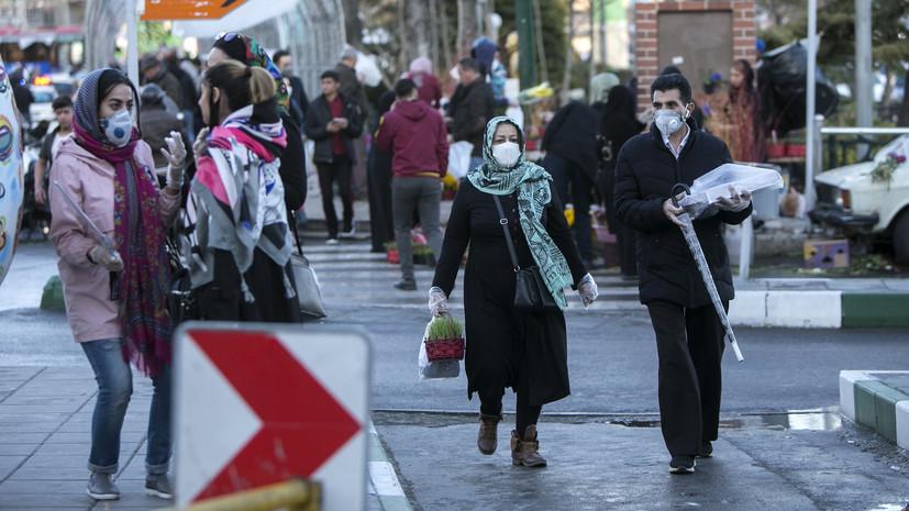 За сутки в Иране выявили более 13 тысяч случаев коронавируса