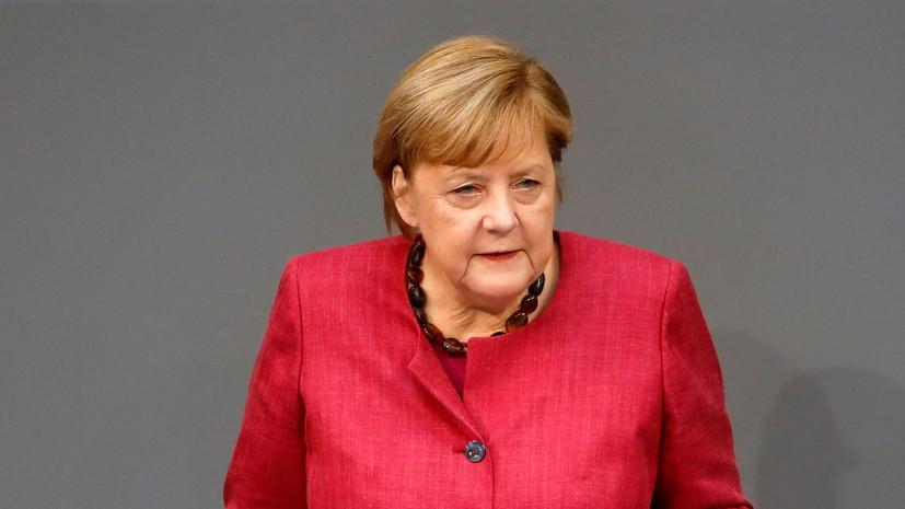 Меркель поздравила Санду с победой на выборах президента Молдавии