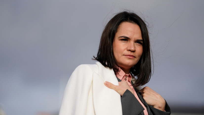 Тихановская посетит Швецию и обсудит расширение санкций против Лукашенко