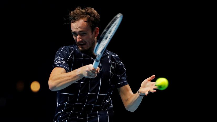Медведев — о победе над Зверевым на Итоговом турнире АТР: уверенность — ключ к успеху