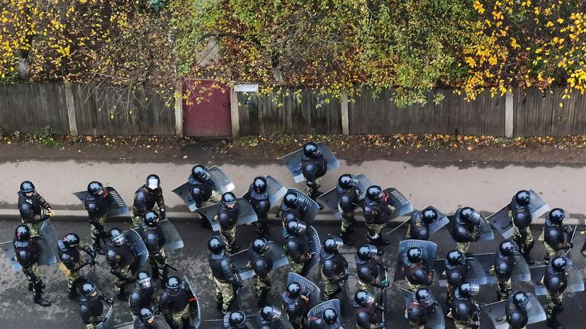 Глава ГУВД Минска заявил, что с протестующими не будут «церемониться»